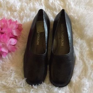 🌹Enzo Angiolini Black Loafer slip-on Size:7 M